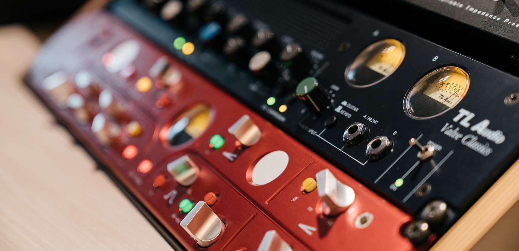 Focusrite PreAmp Closeup